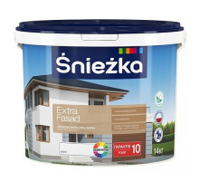 Sniezka Екстра Фасад 10л/14 кг